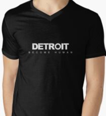 Detroit: Become Human Men's V-Neck T-Shirt