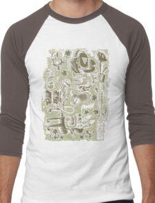 Prospector Loves Beans, Booze & Blues Men's Baseball ¾ T-Shirt