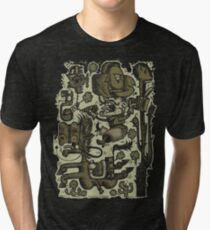 Prospector Loves Beans, Booze & Blues Tri-blend T-Shirt