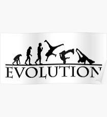 Bboying Evolution Poster