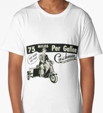 Cushman. The Last Word in '50s Economy!  Long T-Shirt