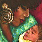 Mother and Child by Alga Washington
