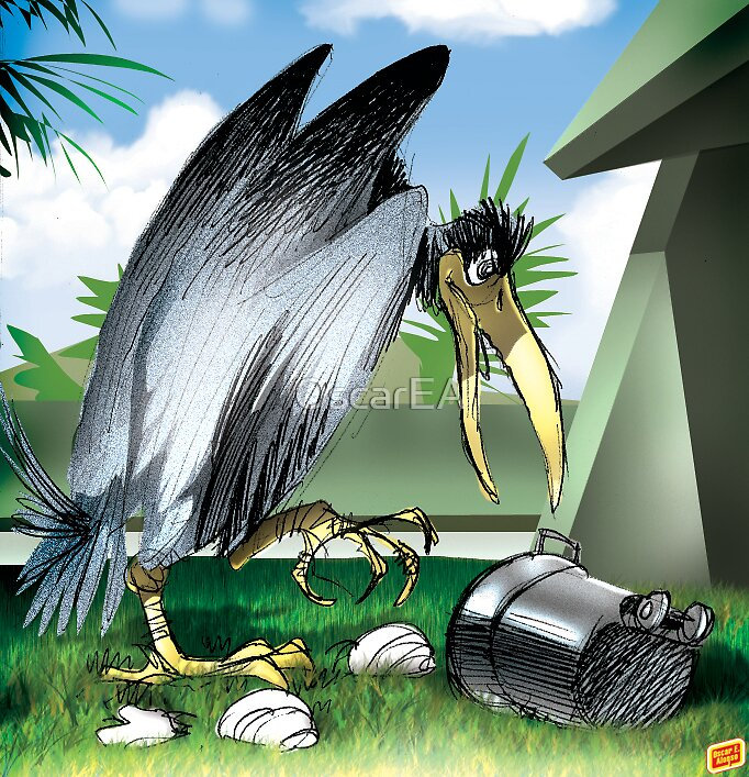 Giant Scavenger by OscarEA