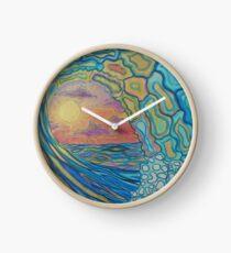 Reloj Pintura de olas 13