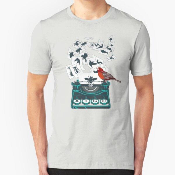 Alphabet of Life Slim Fit T-Shirt