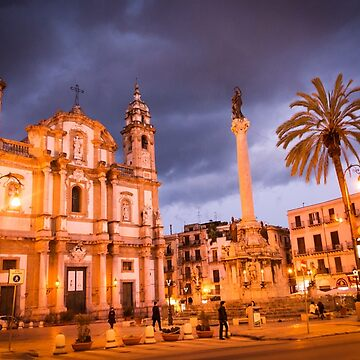 Palermo in Night by sunilbhar