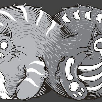 Quantum Cat Curiosity by dv8sheepn