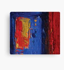 Red Blue and Yellow  Canvas Print