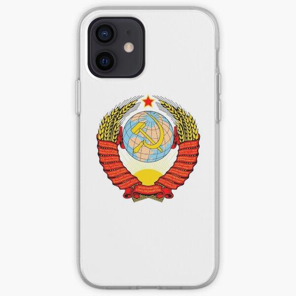 Emblem of the Soviet Union  iPhone Soft Case