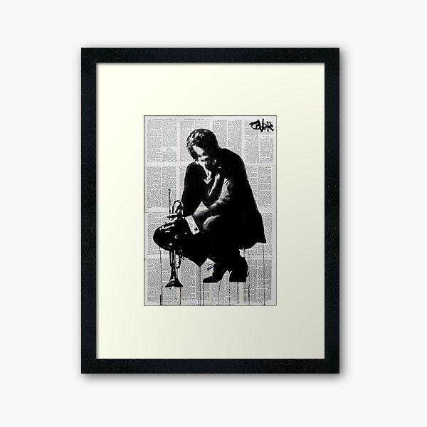 Miles around Framed Art Print