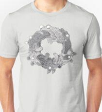 Camiseta ajustada Círculo de la vida