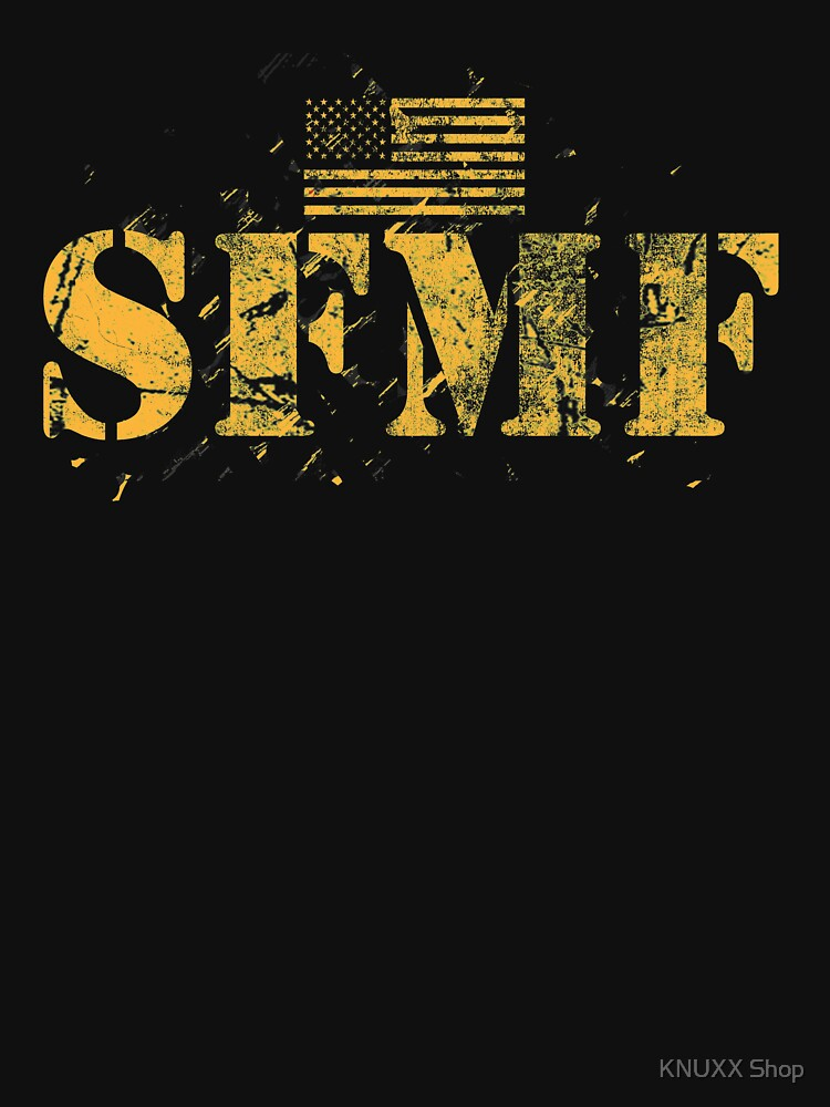 American Military USA Flag Pride Stand Aside Gold SFMF by zot717