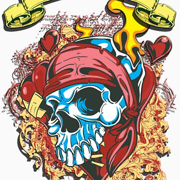 Inkfectious Skull by garmsink
