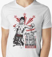 Pacquiao KOs Mayweather Mens V-Neck T-Shirt