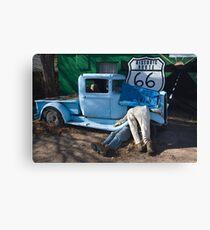 Gettin My Kicks on Route 66 Canvas Print