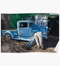 Gettin My Kicks on Route 66 Poster