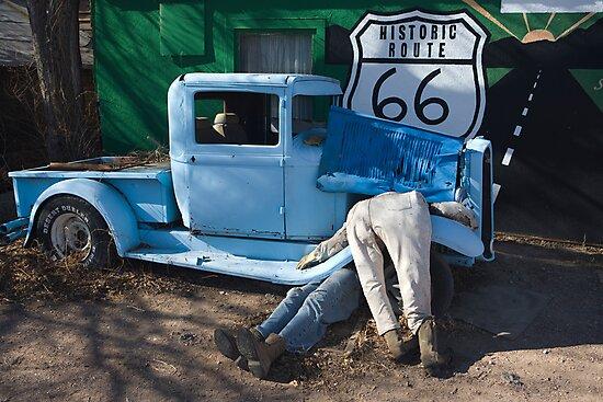 Gettin My Kicks on Route 66 by photosbyflood