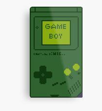 Retro Game Boy Metal Print