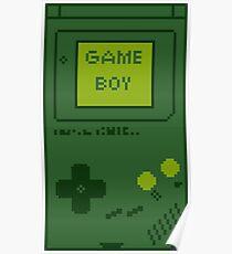 Retro Game Boy Poster