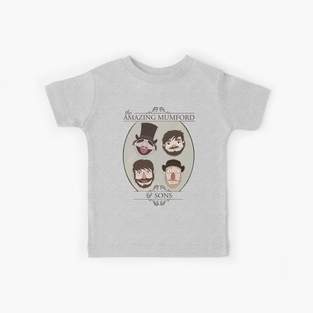 The Amazing Mumford and Sons Kids T-Shirt