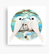 Angel Terns  Canvas Print