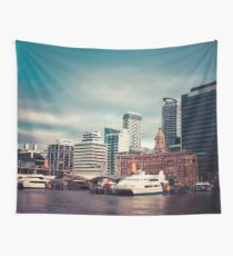 Auckland Ferry Terminal Wall Tapestry
