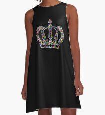 Colorful crown A-Line Dress