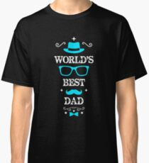 Father's Day worlds best dad Classic T-Shirt