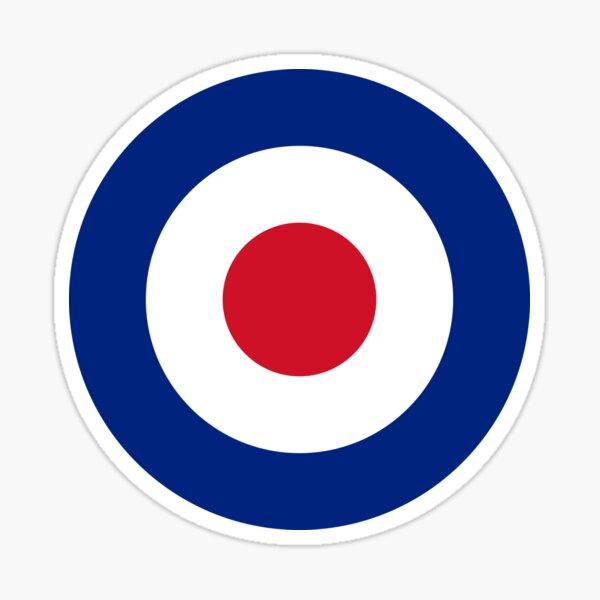 Mod - Classic Roundel - Bullseye Archery Target Sticker
