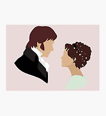 Pride and Prejudice Art Photographic Print