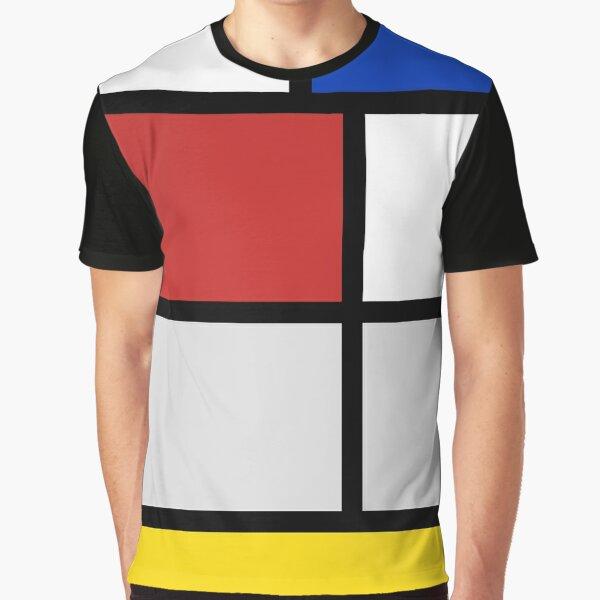 De Stijl artworks - Mondriaan  Graphic T-Shirt