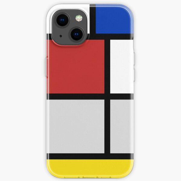 De Stijl artworks - Mondriaan  iPhone Soft Case
