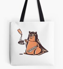 wicked cat darth vader Tote Bag