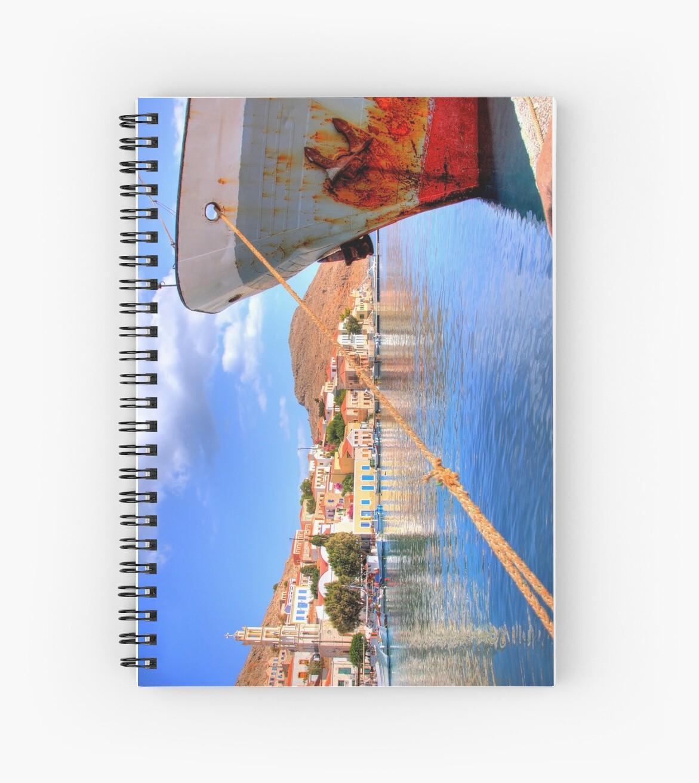 Nimborio Harbour by Tom Gomez