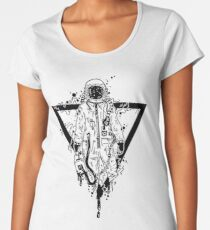 Cool Astronaut  Women's Premium T-Shirt