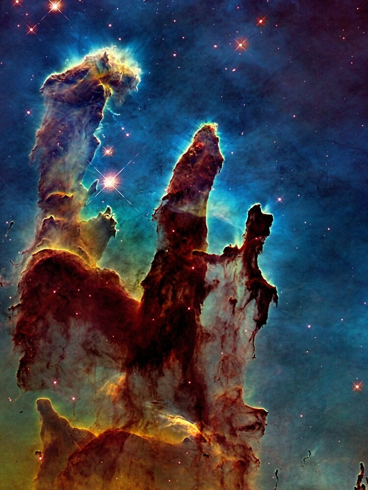 M16 Eagle Nebula Pillars of Creation Enhanced by WWestmoreland