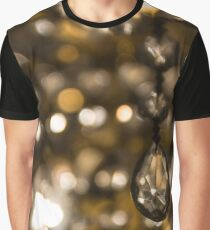 luxury crystal drop Graphic T-Shirt