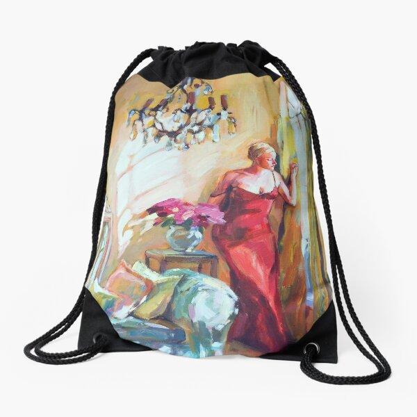 Crystal Room II Drawstring Bag