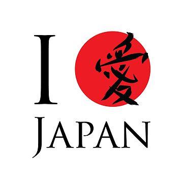 I love Japan by Not-so-Alien