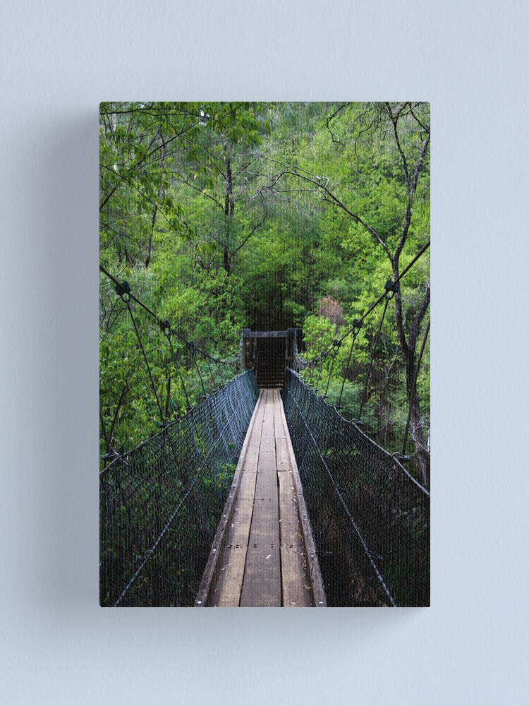 Alternate view of Don't look down... Canvas Print