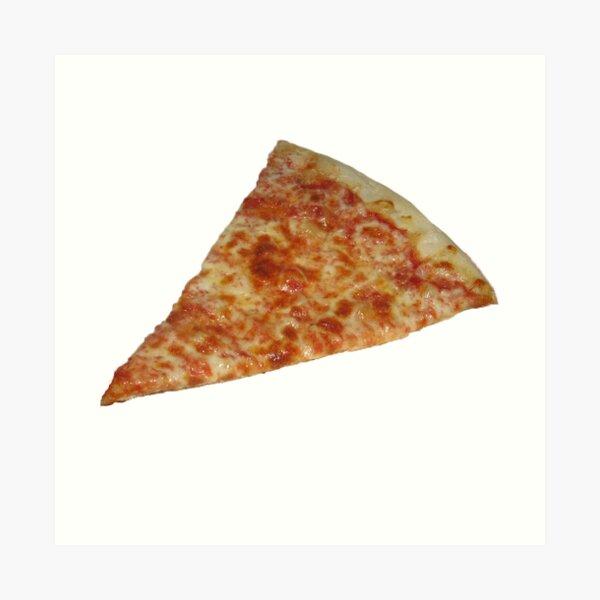 Pizza Sticker Art Print