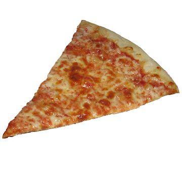 Etiqueta de la pizza de adjsr