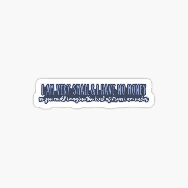 Mulaney - stress Sticker