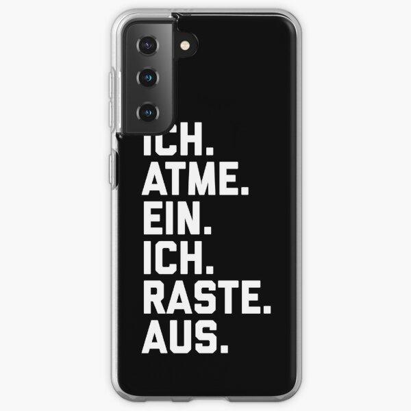 I breathe in, I sped Samsung Galaxy Soft Case