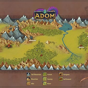 ADOM map by ADOMgame
