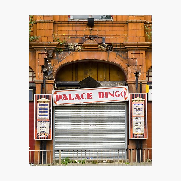 Palace Bingo Photographic Print