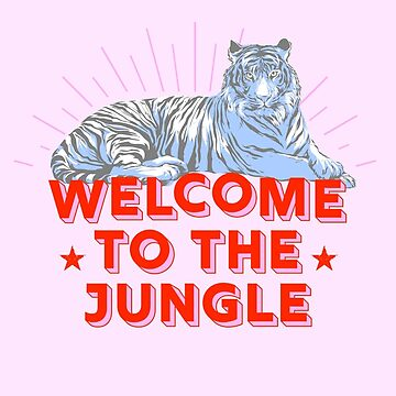 Retro Tiger - welcome to the jungle by ShowMeMars