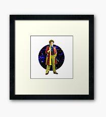 The 6th Doctor - Colin Baker Framed Print