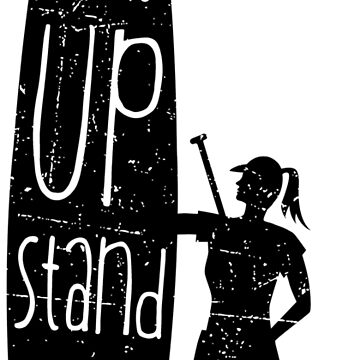 Get up Stand up Girl  by posay