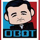 Ted Cruz Politico'bot Toy Robot 3.0 by Carbon-Fibre Media